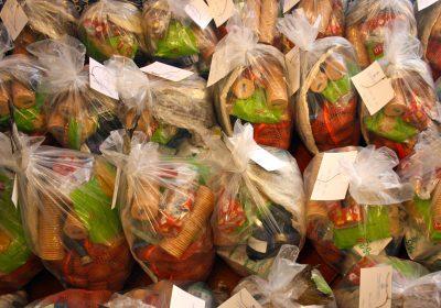 Distribuição de Cabazes de Natal